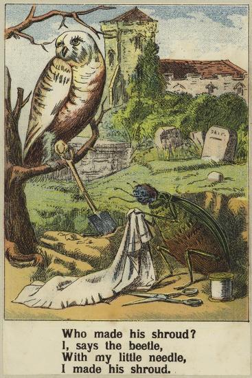 Cock Robin--Giclee Print