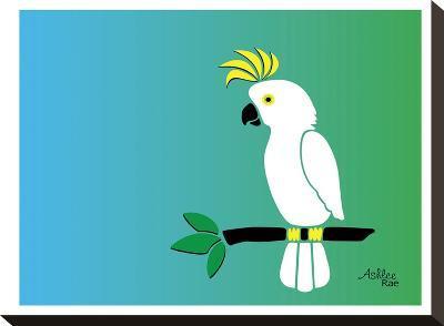 Cockatoo-Ashlee Rae-Stretched Canvas Print
