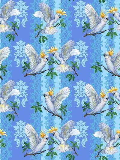 Cockatoos (Pattern)-Maria Rytova-Giclee Print