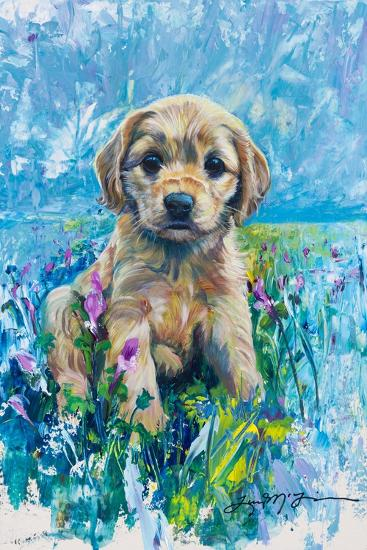 Cocker Spaniel Puppy Love-Lucy P. McTier-Giclee Print