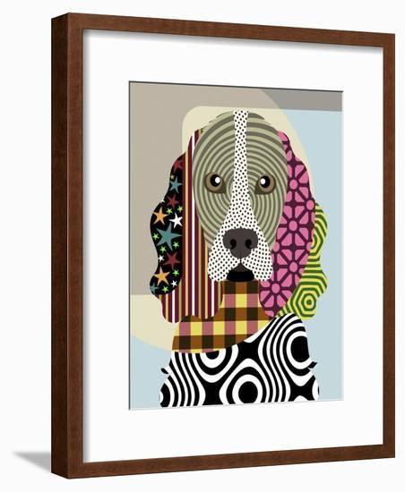 Cocker Spaniel-Adefioye Lanre-Framed Giclee Print