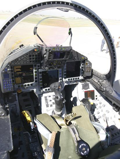 Cockpit View of a Eurofighter Typhoon Photographic Print by Stocktrek  Images   Art com
