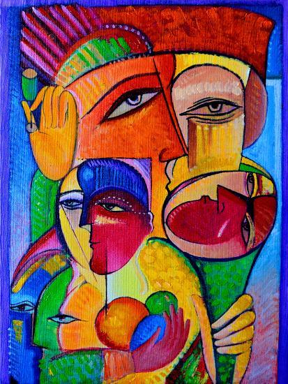 Cocktail 2-Van Hovak-Art Print