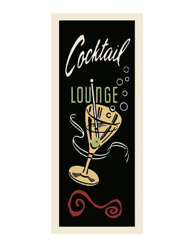 Cocktail Lounge-Retro Series-Art Print