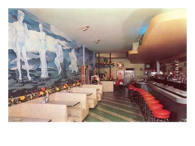 Cocktail Lounge--Art Print