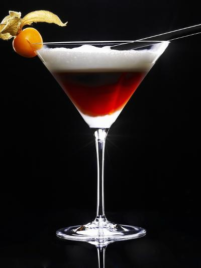 Cocktail Made with Coffee Liqueur-Walter Pfisterer-Photographic Print