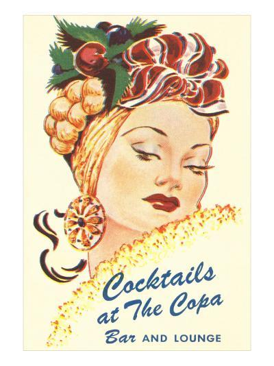 Cocktails at the Copa, Latin Bombshell, Graphics--Art Print