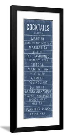 Cocktails Classics-The Vintage Collection-Framed Art Print