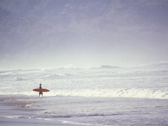 Cocoa Beach Surfer, Florida, USA-Stuart Westmoreland-Photographic Print