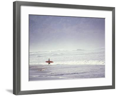 Cocoa Beach Surfer, Florida, USA-Stuart Westmoreland-Framed Photographic Print