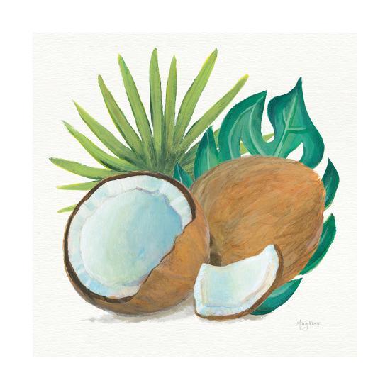 Coconut Palm V-Mary Urban-Art Print