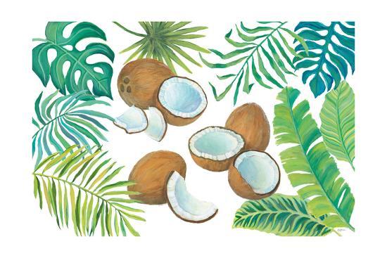 Coconut Palm-Mary Urban-Art Print