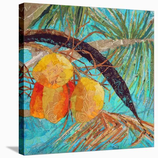 Coconut Palms--Stretched Canvas Print