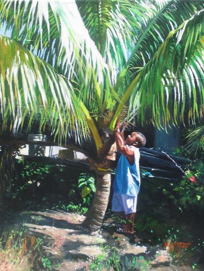 Coconut Shade, 2014-Colin Bootman-Giclee Print