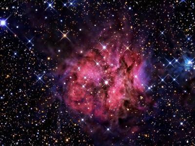 Cocoon Nebula-Stocktrek Images-Photographic Print