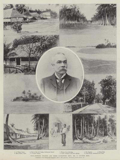Cocos-Keeling Islands and their Uncrowned King, Mr G Clunies Ross--Giclee Print