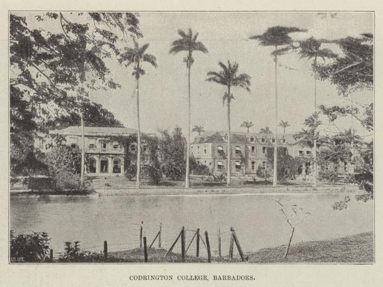 Codrington College, Barbadoes--Giclee Print