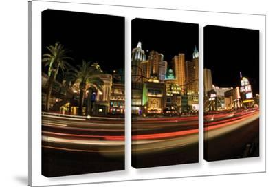 New York, New York, 3 Piece Gallery-Wrapped Canvas Set