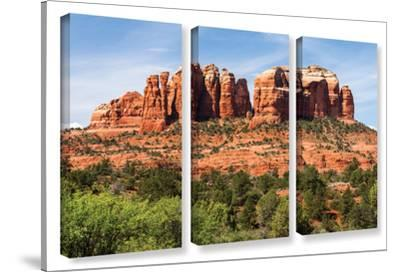 Sedona 2, 3 Piece Gallery-Wrapped Canvas Set