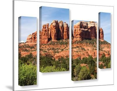 Sedona 2, 4 Piece Gallery-Wrapped Canvas Staggered Set by Cody York