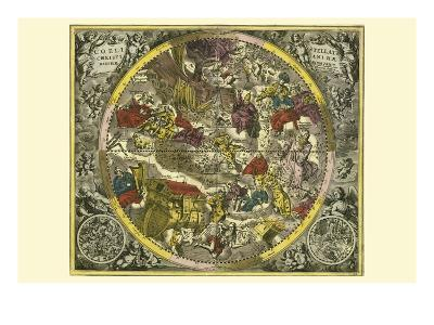 Coelistellati Christianina-Andreas Cellarius-Art Print