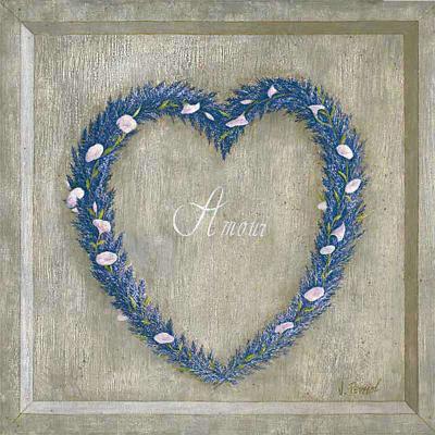 Coeur Amour-Vincent Perriol-Art Print