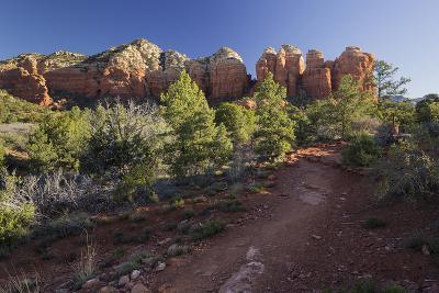 Coffe Pot Rock, Buena Vista Drive, Sedona, Arizona, Usa-Rainer Mirau-Photographic Print