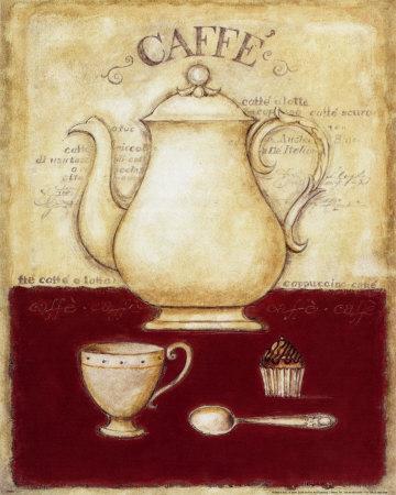 Coffee and Cupcake-G^p^ Mepas-Art Print