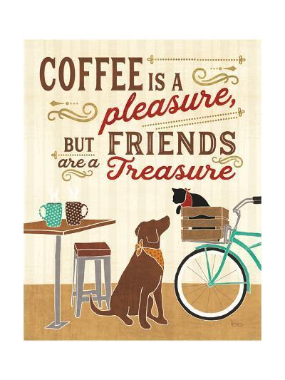 Coffee and Friends II-Veronique Charron-Art Print