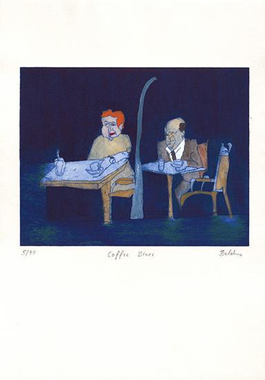 Coffee Blues-Bernd Baldus-Limited Edition