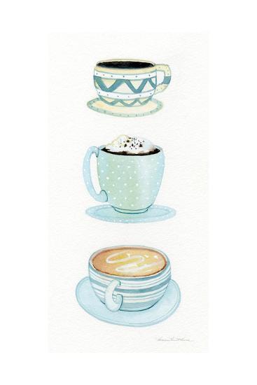 Coffee Break Element VI-Kathleen Parr McKenna-Art Print