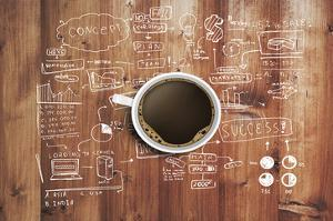 Coffee Cup And Business Plan