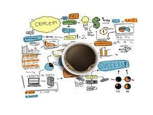 Coffee Cup & Business Strategy