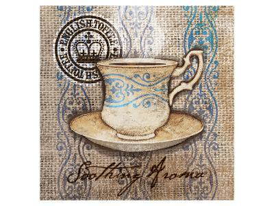 Coffee Cup I Aroma-Alan Hopfensperger-Art Print