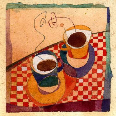 Coffee Cups-Robbin Rawlings-Art Print