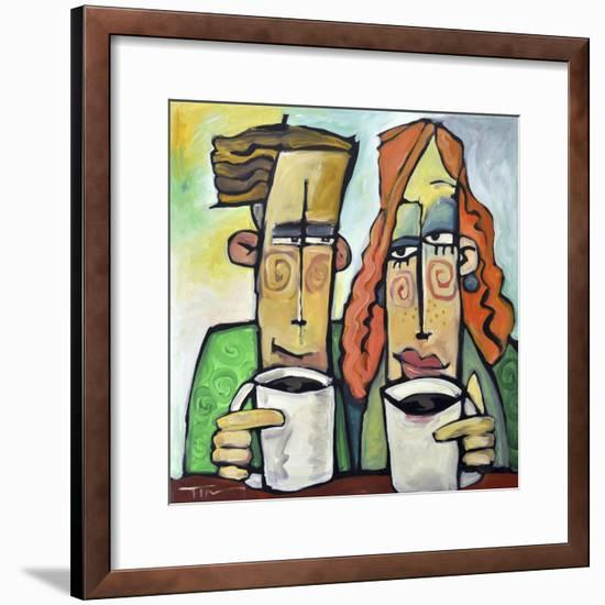 Coffee Date-Tim Nyberg-Framed Giclee Print