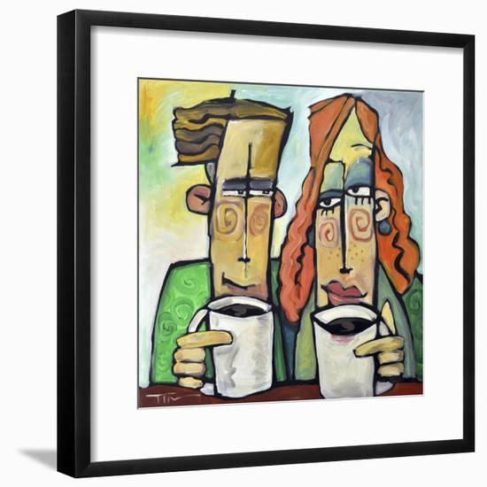 Coffee Date-Tim Nyberg-Framed Giclee Print
