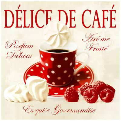 Coffee delight-Galith Sultan-Art Print