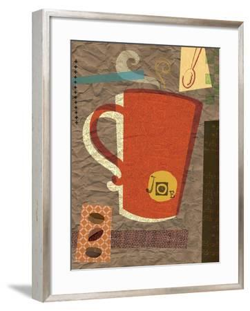 Coffee House 2-Holli Conger-Framed Giclee Print
