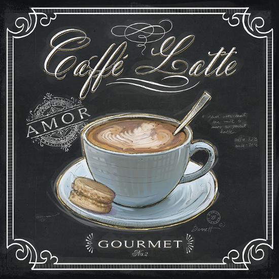 Coffee House Caffe Latte-Chad Barrett-Art Print