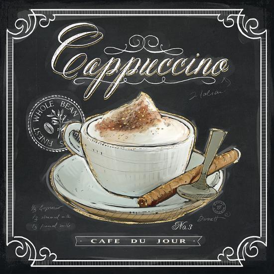 Coffee House Cappuccino-Chad Barrett-Art Print