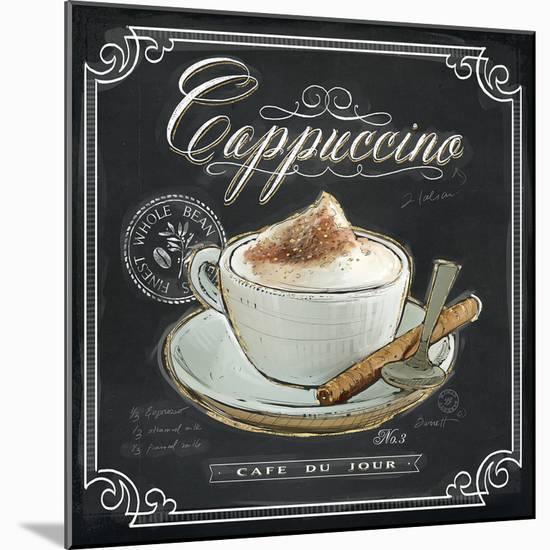 Coffee House Cappuccino-Chad Barrett-Mounted Art Print