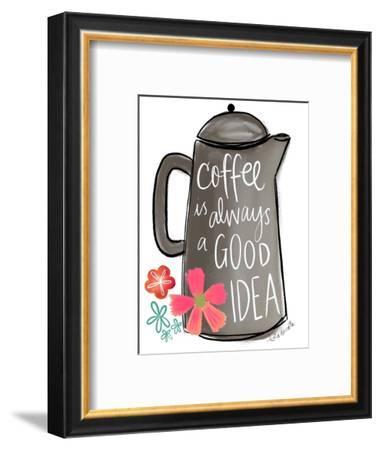Coffee is Always a Good Idea-Katie Doucette-Framed Art Print