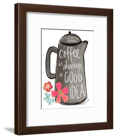 Coffee is Always a Good Idea-Katie Doucette-Framed Art Print