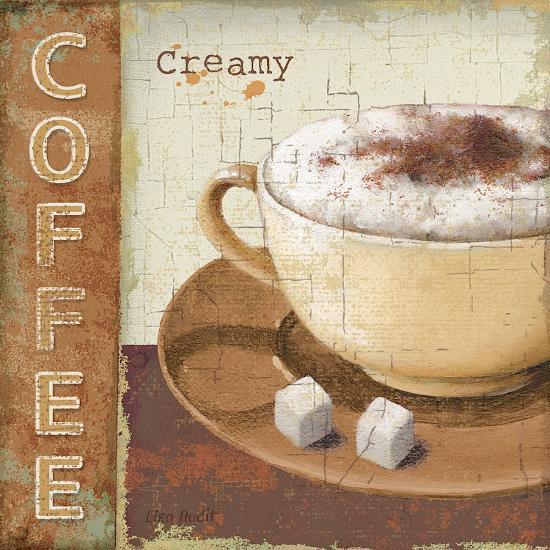 Coffee Lovers I-Lisa Audit-Art Print