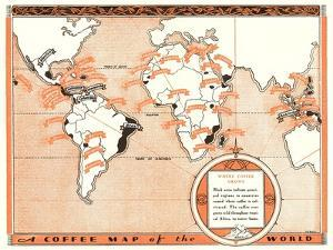 Coffee Map of the World