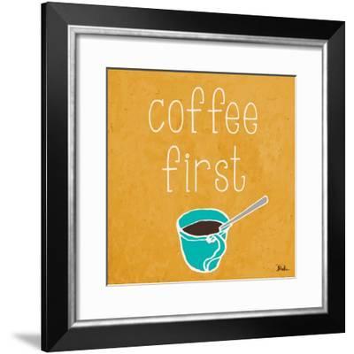 Coffee or Wine I-Patricia Pinto-Framed Art Print