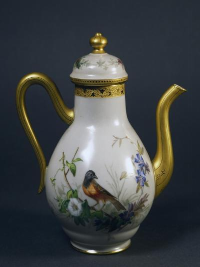 Coffee Pot, Part of Coffee Service, Circa 1865, China--Giclee Print