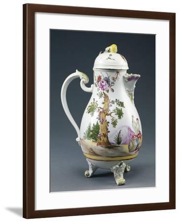 Coffee Pot, Porcelain--Framed Giclee Print