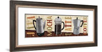 Coffee Pot V-Veronique Charron-Framed Art Print